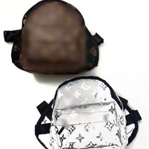 Los últimos hombros Diseño mochilas para mascotas letra impresa manera de peluche bolsa de aire libre encantador del encanto Bichon Bolsas 5 patrones