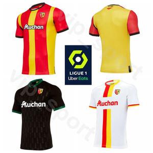 20 Kits de camisa 21 de fútbol RC Lens 10 Gael Kakuta Jersey 27 Ignacio Manuel Pérez Ganago 6 22 Tony Mauricio Yannick Cahuzac Fútbol