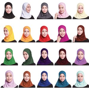 2019 UAE Abaya Dubai Saudi Arabia Islam Hijab Cap Hat Women Muslim Turban Hijabs Shawl Turbante Sombrero Mujer Bonnet Headscarf