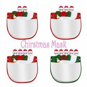 안티 - 안개 전체 안티 먼지 방풍 PET 마스크 방진 사랑스러운 검역 크리스마스 생일 어린이 얼굴 쉴드 투명 보호 마스크