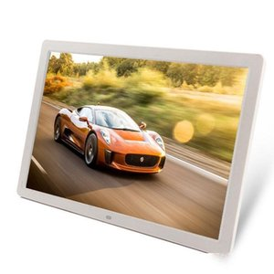 HDMI 17 İnç LED Arka HD1440 * 900 Tam Fonksiyon Dijital Fotoğraf Çerçevesi Elektronik Albüm digitale Resim Music Video
