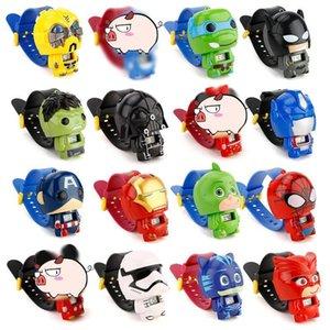 Avengers Lol Puppe-Kind-Uhr Batman Kitty Elektronische Karikatur-Kind-Uhren für Kursteilnehmer Jungen-Mädchen-Kind-Armbanduhr
