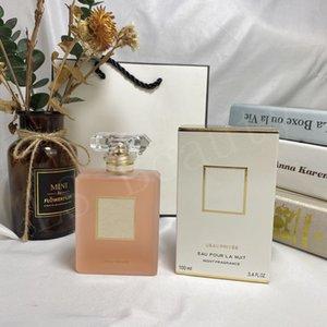 O mais novo Lady L EAU PRIVEE EAU POUR LA NUIT NOITE Fragrance koko 100ML para as mulheres fresco e duradoura fragrância do perfume