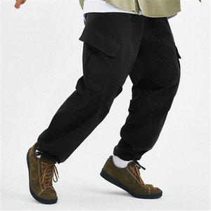 abbigliamento estivo meridionale 2020 misura autunno e organizzando Tute pantaloni pantaloni casual casual tasca pantslarge marchio di tendenza piedino regolabile