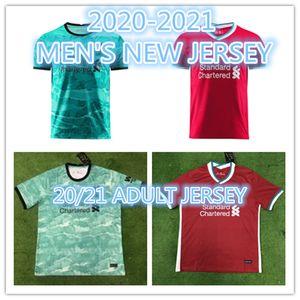 LİverpoolSoccer jersey M.SALAH Salah 10 MANe FIRMINO MILNER HENDERSON WIJNALDUM VAD DIJK 20 21 Football Shirt soccer jersey