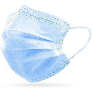 50 HIWUP Sanitary Blau Face Pack / Box Masken Eplpk