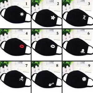 fashion expression Designer Masks Adult Kids Face Masks With breathing valve washable Protection PM2.5 Cycling Masks
