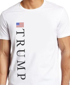 TRUMP 2020 ABD AMERİKAN FLAG Beyaz Men T-shirt S, E, L, XL, 2XL, 3XL