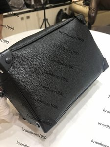 Hombro bolso de la caja del cuero genuino de lona suave Mini Cubo bolsa manera de las mujeres bolso de los bolsos del cuerpo cruzado bolso de la flor simétrica