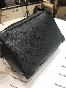Bolsa de ombro Flower Box Caixa simétrica Bolsa de couro genuíno lona macia mini bolsa de balde mulheres sacos de moda bolsa de corpo cruz