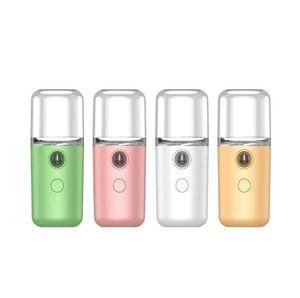 Nano Mist Sprayer Portable Mini Handheld Humidifier Summer Moisturing Facia lSteamer USB Rechargeable Sprayer Humidifier Mist Spray LSK1152