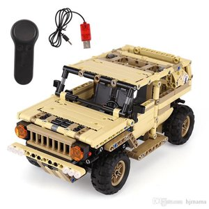 Yeshin 13009 Military Toys Series The Military SUV Car Set Building Blocks Bricks Remote Control Car Kids's Toys Christmas Gifts