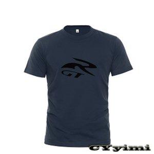 Hyosung GT650R GT250R T-shirt Homme Nouveau logo T-shirt 100% coton d'été à manches courtes col rond T-shirts Homme