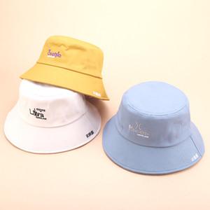 Women Bucket Hat Fashion Twelve constellations bob Hat Chapeau Wholesale Fishermen Cap UV protection Visor Hats gorro pescado