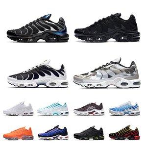 TN Plus chaussures pour hommes Triple noir blanc oreo métallique Parachute dégradé rouge psychique bleu formateurs de sport pour hommes chaussures de course respirantes taille 46