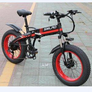 S9F portátil bicicleta eléctrica plegable de grasa 350w / 20 pulgadas plegable ebike grasa de neumáticos para la venta