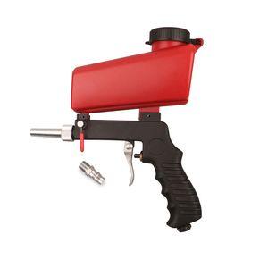 90 psi Portable Gravity Sandblasting Gun Pneumatic Small Sand Blasting Machine Adjustable Pneumatic Sandblasting Tool