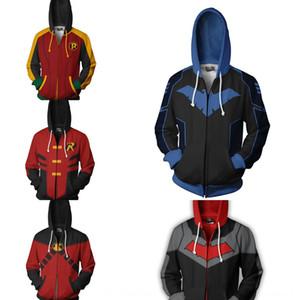 خدمة بطل DC serviceSweater clothingRobin 3D المطبوعة cosplaywear تأثيري DC خدمة بطل المسرحية serviceSweater اللعب clothingRobin 3D المطبوعة