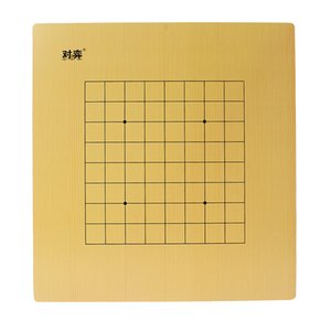 Children\'s Double Sided Wooden Weiqi Game Board Checkerboard Go Chessboard