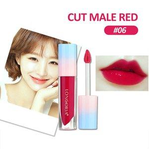 Moisturizer Lipstick Lazy Lipstick Sexy Long Lasting Lip Gloss Water Gel Tint 6 Colors Lips Makeup Gift Beauty Flowers