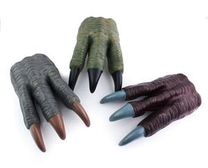 Jurassique gants jouets modèle griffe dinosaure avec trois griffes apparence réaliste des gants sentent le dinosaure