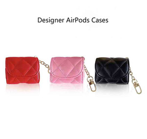 Handbag Style AirPods Case High Quality Protective Case for Wireless Bluetooth Headphone Set Fashion Airpods Pro PU Anti-fall Cover 3 Colors