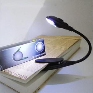 Led Light Book Mini Clip-On Bright LED flexible Lampe Lecture Lampe pour Voyage Chambre Book Reader Cadeaux de Noël