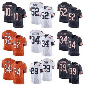 Chicago52 Khalil Mack Bears34 Jersey Walter Payton 10 Mitchell Trubisky 29 Tarik Cohen 39 Eddie Jackson Männer Frauen Jugendliche