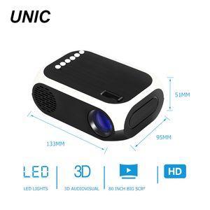 дешево Небольшой Micro LCD Home Открытый Pico Pocket Portable Portable LED Mini Projector YY-BLJ111 для смартфона мобильного телефона