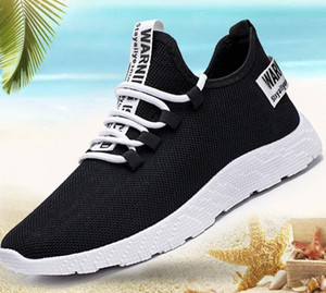 2020 new Running shoes new autumn breathable Korean casual trendy shoes all-match sports young men's shoes