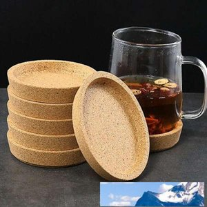 Creative round cork coaster insulation pad three-dimensional anti-scalding environmental protection cup holder
