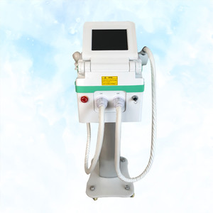 laser ND portatile yag Professional + IPL / opt / SHR 2 in 1 macchina per il tatuaggio / pigmentazione rimozione / capelli e ringiovanimento della pelle