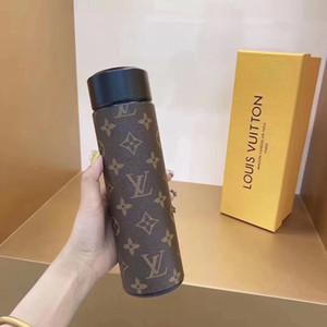 كأس الشاي الأزياء غلاية للجنسين المحمولة الترمس المياه كأس الطلاب الإبداعية الشخصية زجاجة المياه تريند بسيط سعة كبيرة