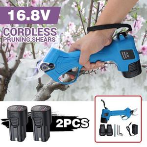 Strumenti Pruner 2x Potatura batteria Garden Cutter senza cordone ricaricabile Shear Filiali 25 millimetri 7.2 / 16.8V Eletric 1300 / 220mAh hotclipper DZvUa