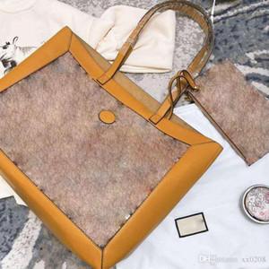 Tasarımcı, yüksek kaliteli marka grafiti sürüm retro cazibesi güçlü orijinal iç baskı büyük kapasiteli alışveriş çantası çanta tasarlıyor.