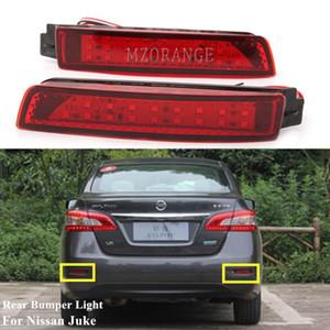 MZORANGE 2Pcs car Rear Bumper Reflector LED Tail Brake Light Fog Backup Lamp For Juke Z51 Murano For Infiniti FX35 FX50