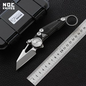 NOC original MT-06 tactical folding knife m390 blade titanium handle camping hunting outdoor survival knife EDC tool