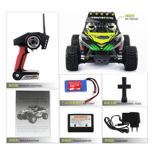 50KM / H RC автомобилей 2.4GHZ 1:18 4WD Матовый дистанционного управления Rock Crawler Monster Truck Вездеход RC игрушек для детей Игрушки для младенцев