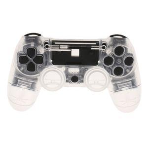 Capa Skin Protector Caso Shell Habitação para Sony PlayStation 4 PS4 Controlador transparente