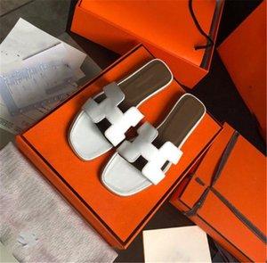 Hermes women shoes With box  neue Hausschuhe Sandalen Flache Schuhe aus echtem Leder Slides beste Qualität Hausschuhe Sandalen Huaraches Loafers Scuffs für Frau Eu: 35-40.877