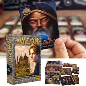 Dayanıklı Eğlence Yeni Avalon Oyun bbyKgQ ile Tarot Kart Sağlam Kartları dropshipping Kurulu Çalma Kılavuzu Tarot İngilizce Kartı