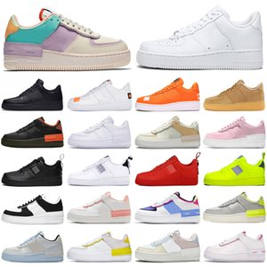air force airforce forces 1 af1 shadow just do it dunk low one chaussures de course hommes femmes utilitaire plateforme hommes formateurs baskets de sport