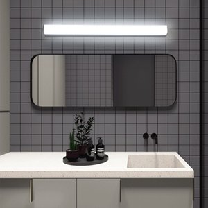 Lampada da parete della lampada del riparo della parete in acrilico ha montato la luce Specchio letto Bagno Infissi Vanity luce 12W 18W 24W LED moderna