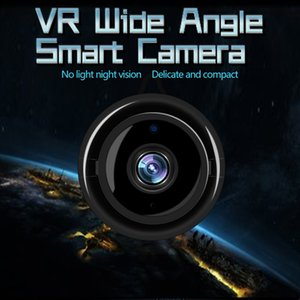 VR Wide Angle Smart Camera wireless delicate and compact remote monitoring without light night vision