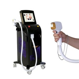 3 Wavelengths Hair Remover 808nm 755nm and 1064 nm Diode Laser Hair Removal Machine, For Permanent Hair Removal