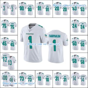 МайамидельфиныМужчины # 13 Dan Marino 1 Туа Tagovailoa 90 Шак Lawson 14 Райан Фицпатрик Пользовательские Женщины МолодежьНФЛ трикотажные изделия футбола