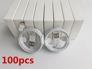 100pcs 7 generations Original OEM quality 1m 3ft 2m 6ft USB Data Sync Charger Phone Cable With New retail box