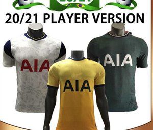 20 21 Player version Spurs Accueil SON Football Maillots 2020 Loin KANE LLORENTE DELE football chemise LUCAS personnalisée football uniforme