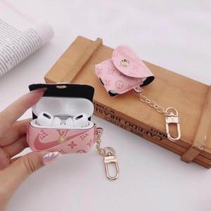 khgj Moda Airpods impermeabili borse Pro per Apple Airpod Pro copertura dell'unità di elaborazione di moda Anti perso Hook Chiusura portachiavi per Airpod Caso