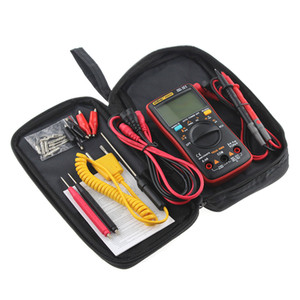 AN8008 AN8009 Auto Range Digital Multimeter 9999 counts With Backlight AC DC Ammeter Voltmeter Ohm Transistor Tester multi meter